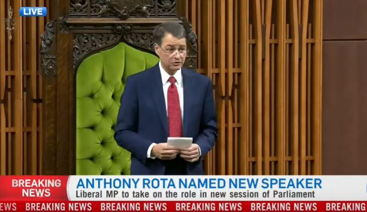 Anthony rota parla in italiano alla camera dei comuni for Camera dei